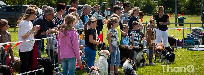 Kind-Hond show tijdens Jubileumdag KC Zeeland